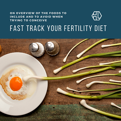 Fast Track Your Fertility Diet