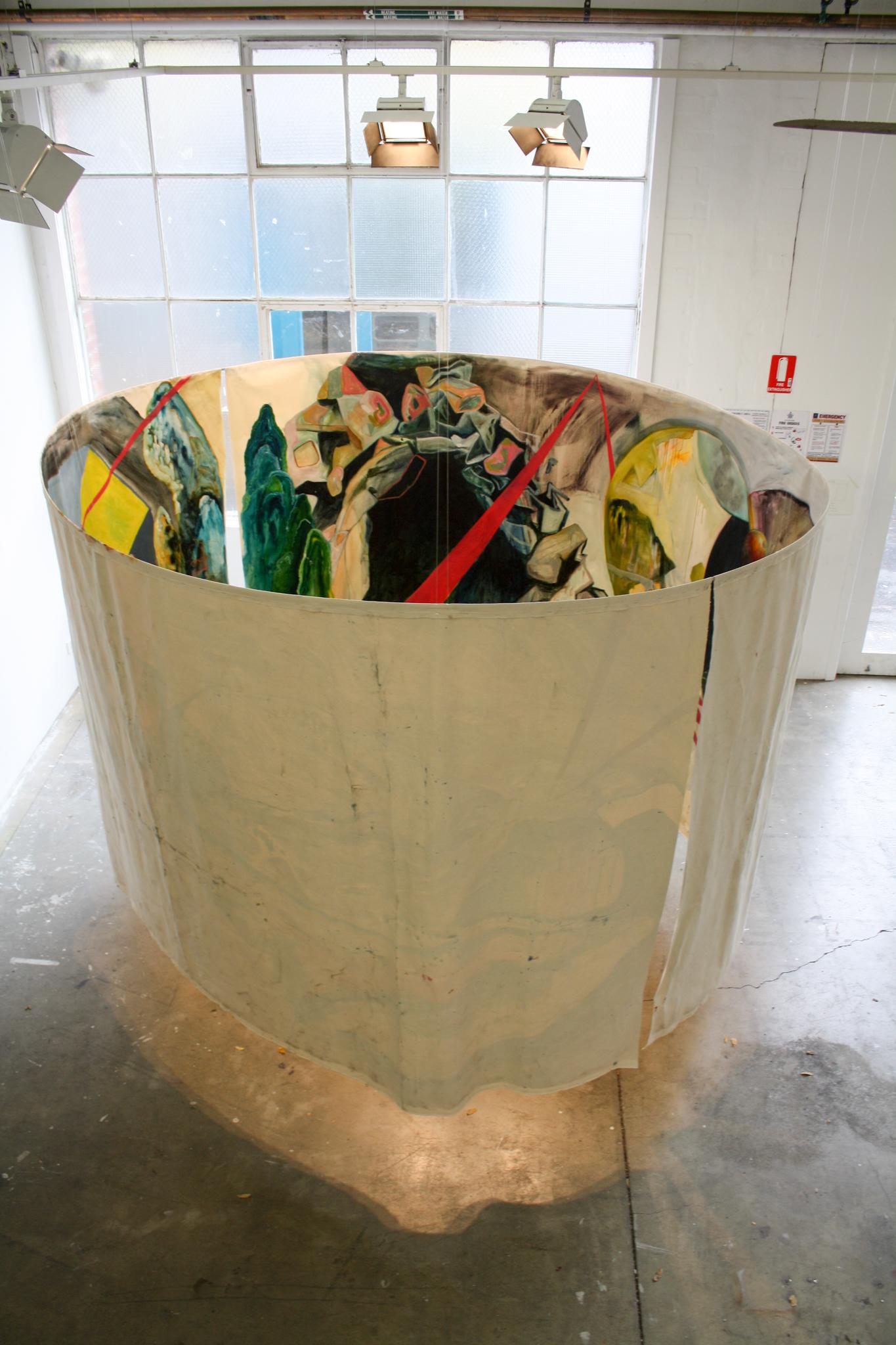 Contemporary installation art