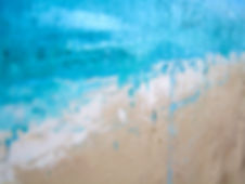 Ocean 5'W x 6'H Acrylic on Canvas