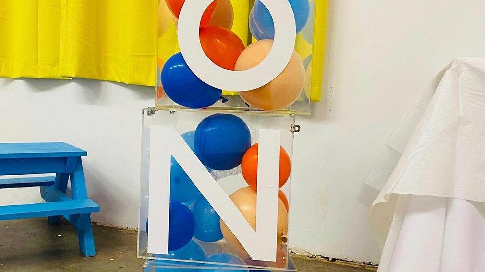 Acrylic Balloon boxes