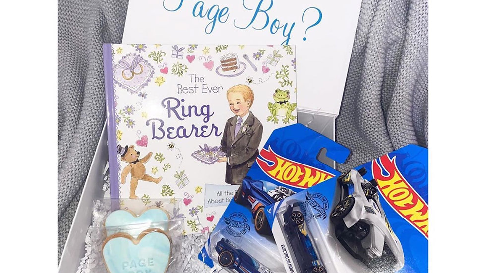 The Page Boy Gift Box