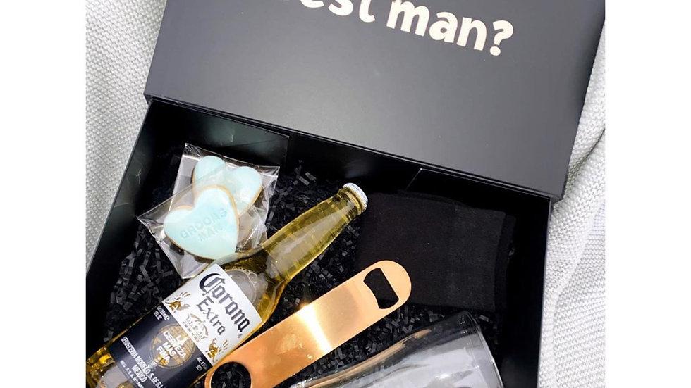 Beer Groomsmen Proposal Boxes