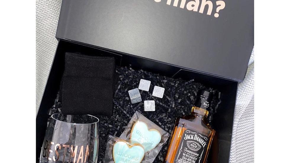 Large Best Man proposal Box