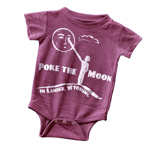 Poke the Moon Bebe Onesie