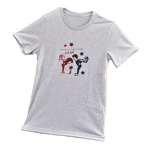 Is it Lit?? Unisex T-Shirt