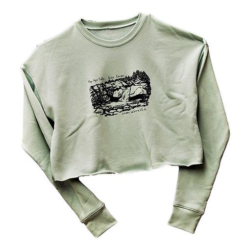 Popo Agie Falls Cropped Sweatshirt