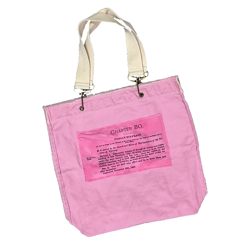 Chapter 50 Female Suffrage Tote Bag
