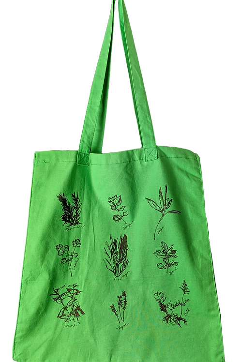 Herbs Grocery Tote