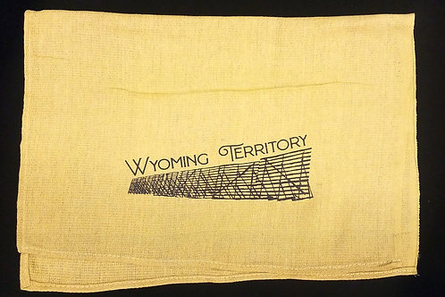 Snow Fence Wyoming Territory Kitchen Towel