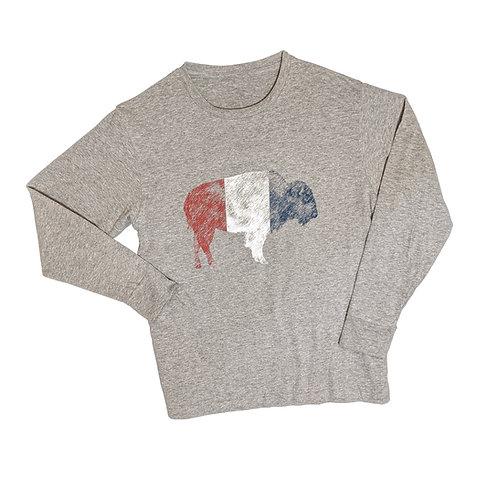 RWB Bison Youth Long Sleeve T-Shirt
