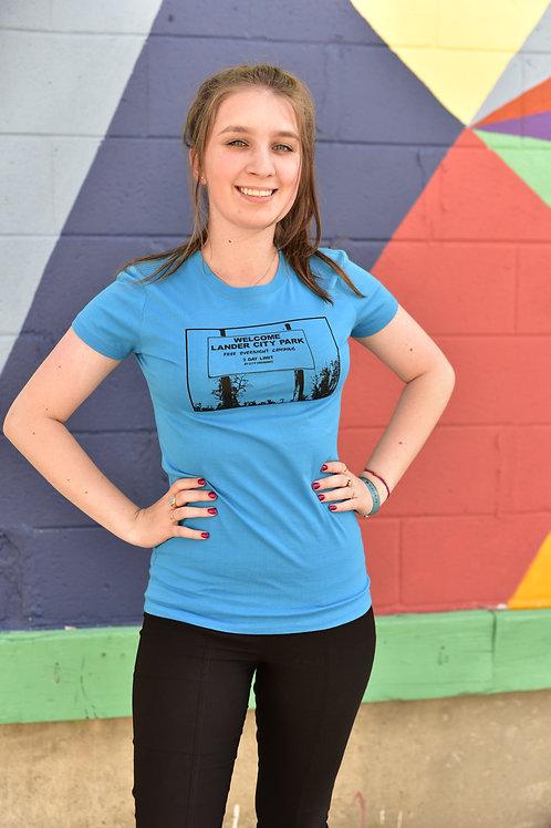 Free Camping Ladies T-Shirt