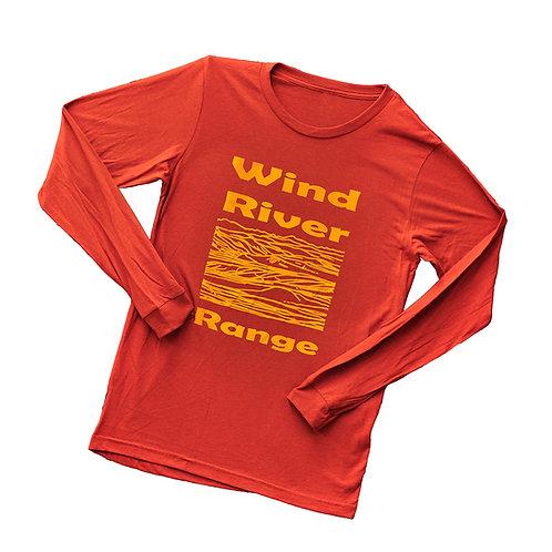 Wind River Range Unisex Long Sleeve T-shirt