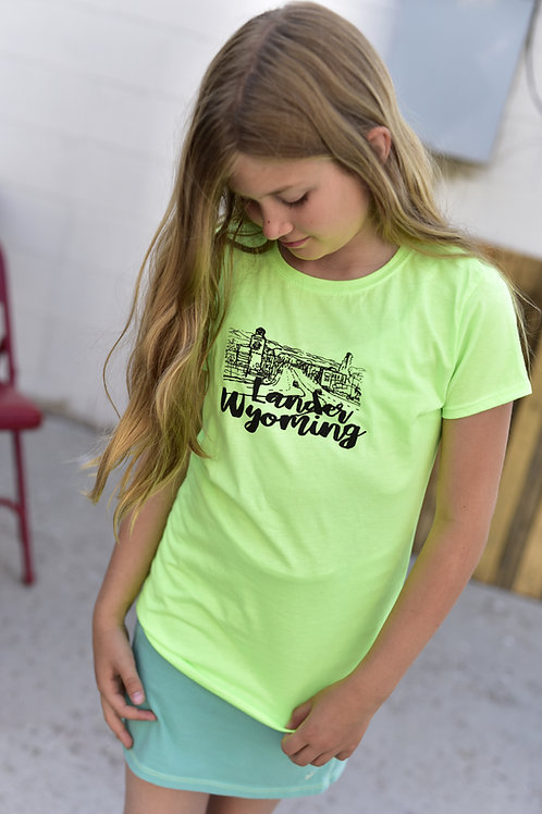 City of Lander Girls T-Shirt