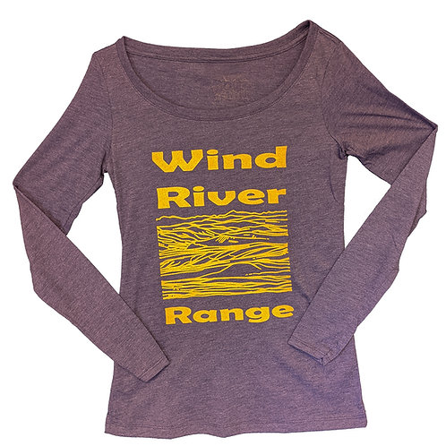Wind River Range Ladies Scoop Long Sleeves Tee