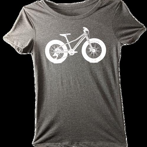 Fat Tire Bike Ladies  T-Shirt
