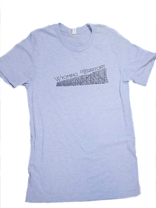 Snow Fence Wyoming Territory Unisex T-shirt