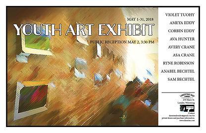 Youth Art Exhibit Flyer