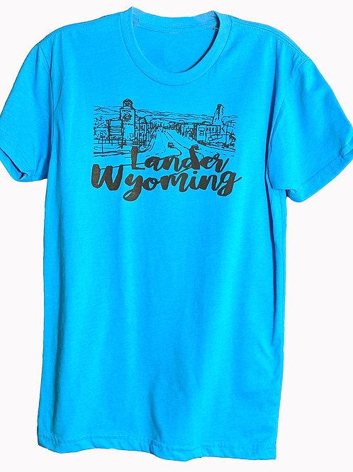 City of Lander, Wyoming T-Shirt