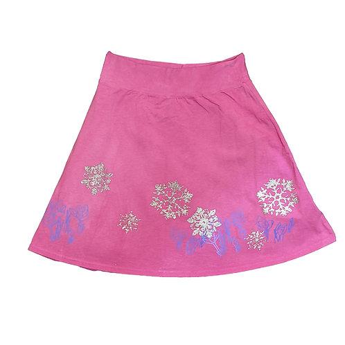 Snowflake and Crocus Skirt