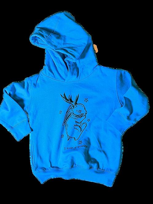 Jackalope Toddler Pullover Hoodie