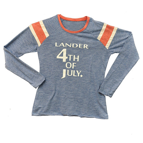 Lander 4th Ladies LongSleeve T-Shirt