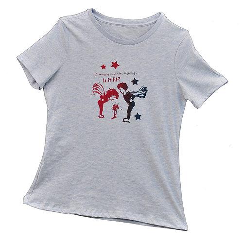 Is it Lit? Ladies T-Shirt