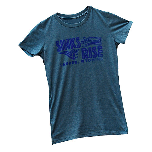 Sinks and Rise Ladies T-Shirt