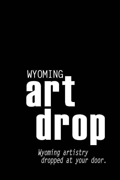2020 Wyoming Art Drop