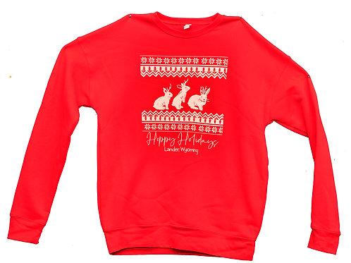Hoppy Holidays Unisex Crew Sweatshirt
