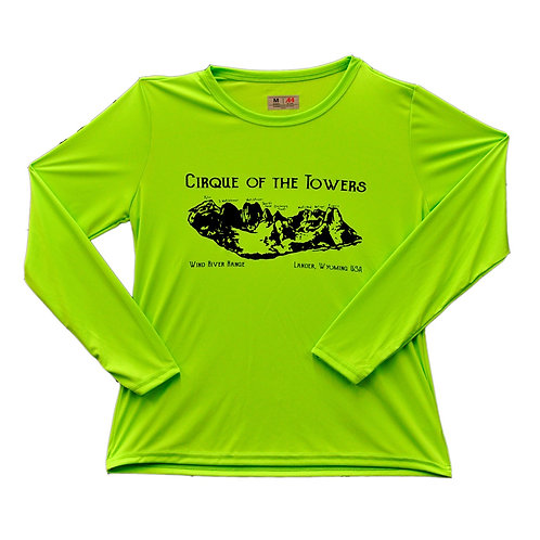 Cirque of the Towers Ladies Performance Tee
