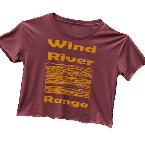 Wind River Range Ladies Crop Top