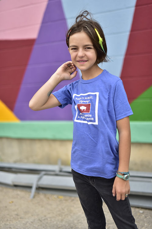 Keep it Public WY! Youth T-Shirt