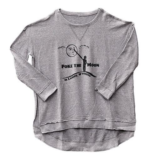 Poke the Moon Ladies Flowy Sweatshirt