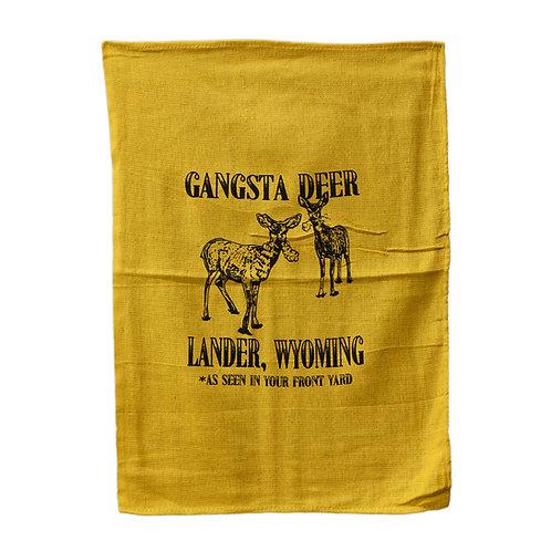 Gangsta Deer Skinny Dip Towel