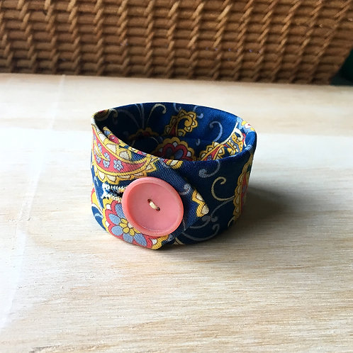 Paisley Tie Cuff
