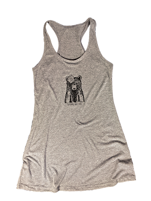 Wyoming Wild Child Ladies Tank Dress