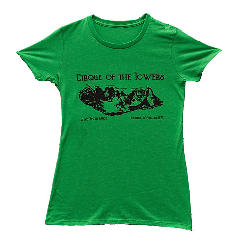 Cirque of the Towers Ladies Tee