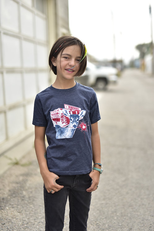 Darn Deer Youth T-Shirt
