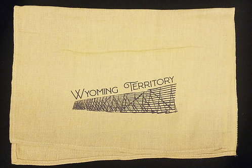 Snow Fence WY Territory Towel