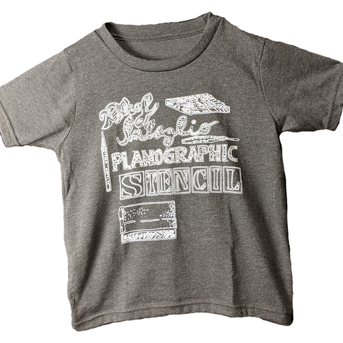 Youth Types of Printmaking T-Shirt
