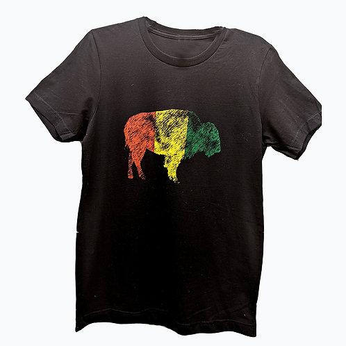 Rasta Bison Unisex T-shirt