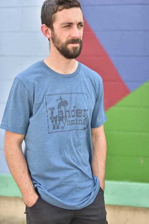Lander Wyoming Cowboy T-Shirt