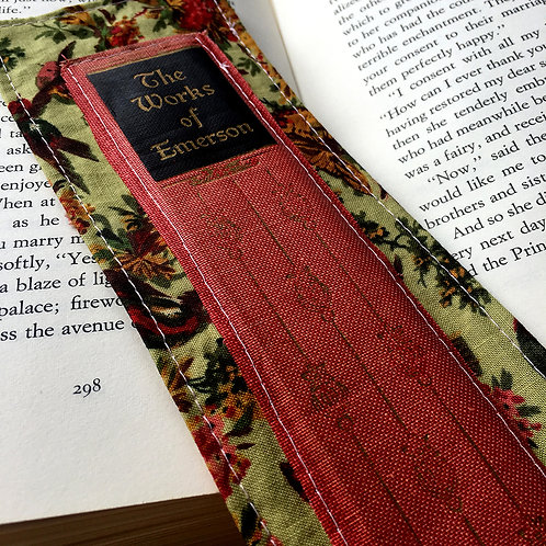Bookspine and Fabric Bookmark