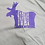 Thumbnail: Moose Unisex T-shirt purple print