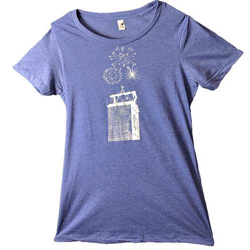 Firework Ladies Mill T-Shirt