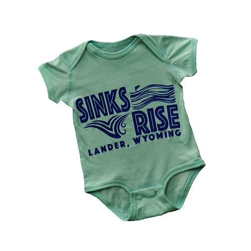 Sinks and Rise Onesie