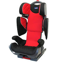 Klippan Wego es una silla para que los niños mayores de cuatro años viajen de forma segura en el coche ofreciendo un correcto guiado de cinturón