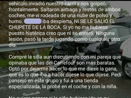 "Testimonio de un accidente con ""final feliz"""