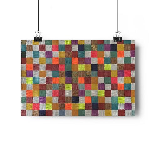 Patchworks - Giclée Art Print