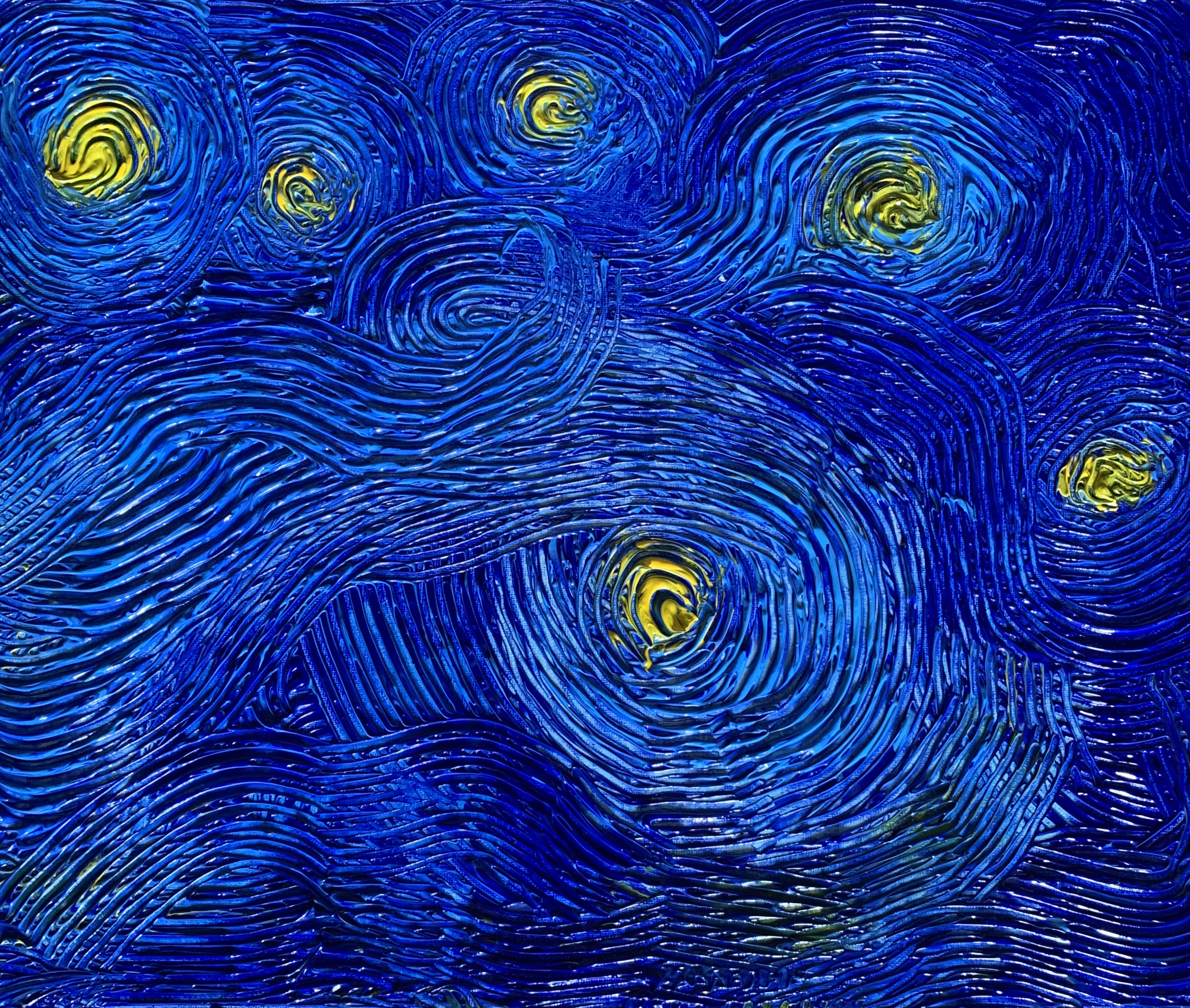 Revisiting Starry night